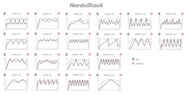 Rotoped nordictrack GX 2.7U programs JPG