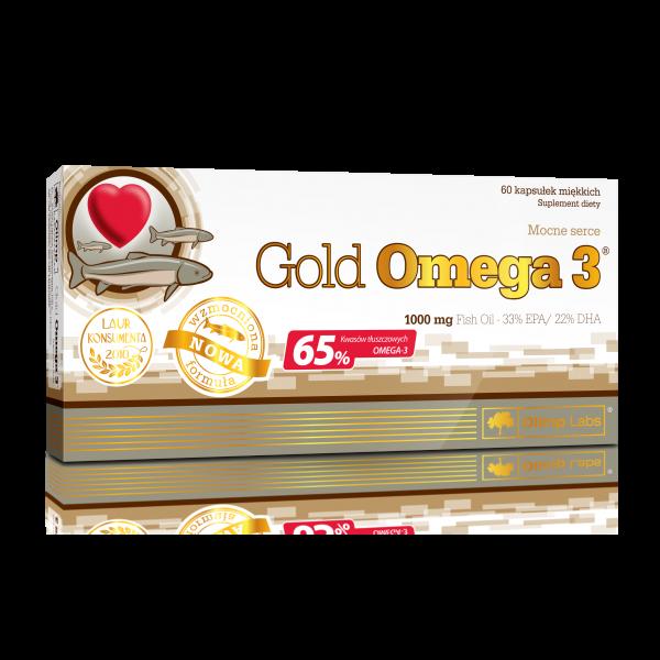 OLIMP Gold Omega 3 - 60 kapslí