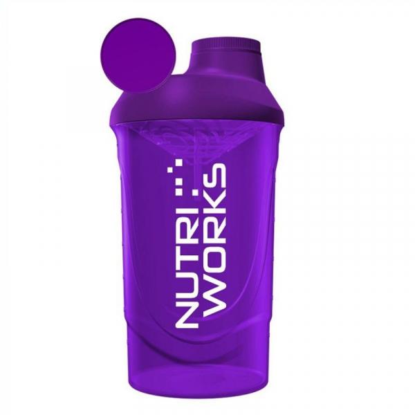 NUTRIWORKS Shaker 600 ml fialový