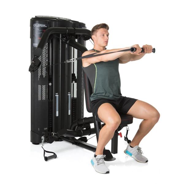 Posilovací lavice s kladkou FINNLO MAXIMUM Dual ChestShoulder tlaky na prsa