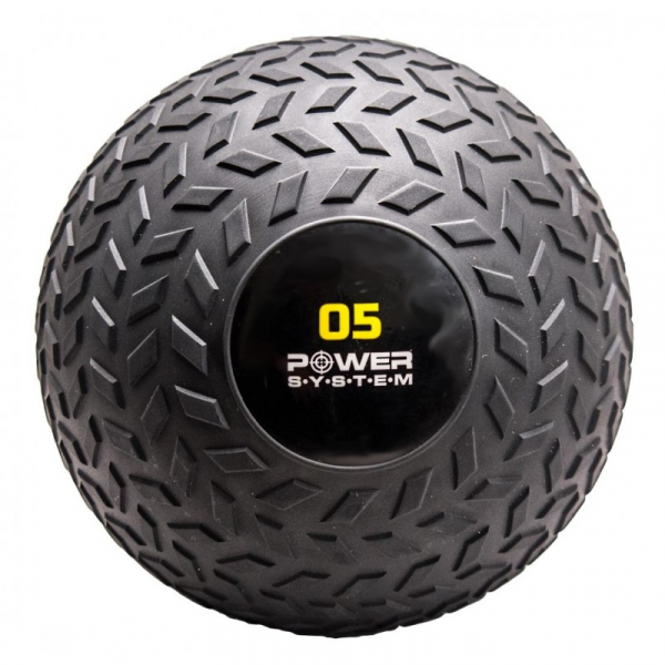 Medicinbal Slam ball POWER SYSTEM černý 5 kg