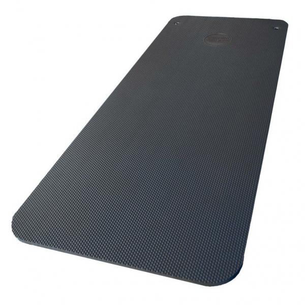 Podložka Fitness Mat POWER SYSTEM šedá šikmá