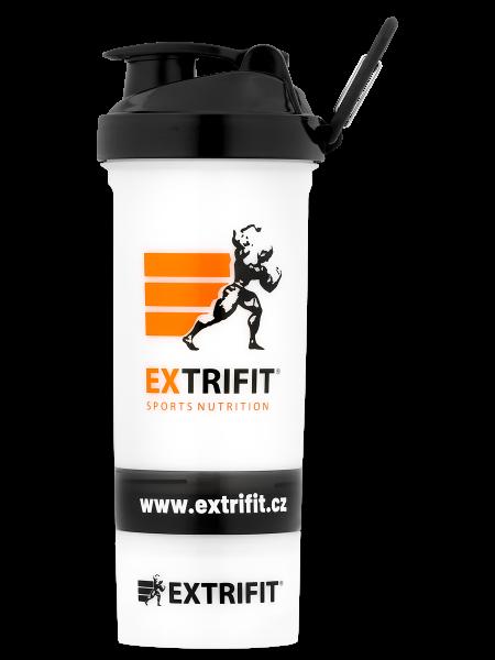 EXTRIFIT Shaker Triple 600 ml transparent celý