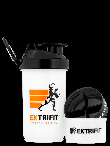EXTRIFIT Shaker Triple 600 ml transparent rozloženost