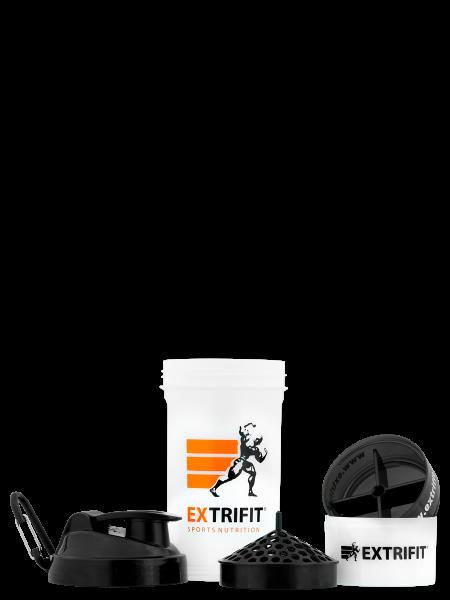EXTRIFIT Shaker Triple 600 ml transparent úplná rozloženost