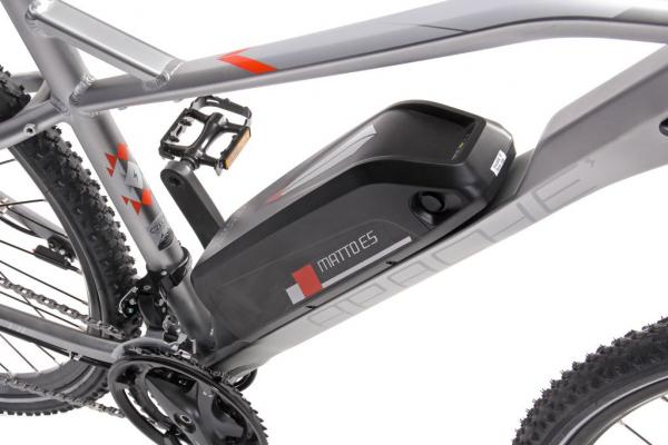 MATTO E5 stříbrná baterie