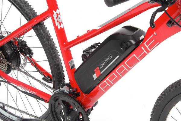 MATTO WMN E3 16 Ah červená baterie