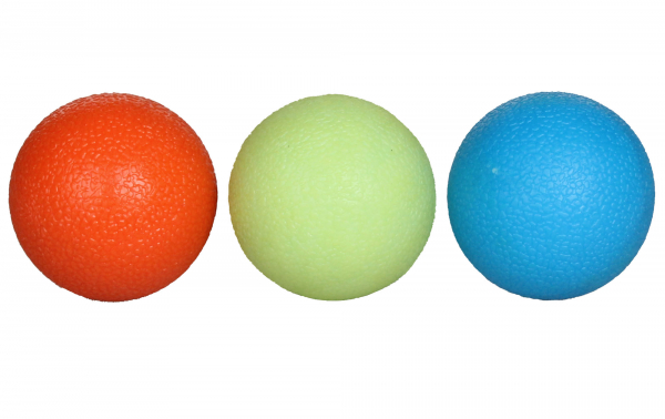 Posilovací míčky Grip Balls - 3 kusy LIVEUP
