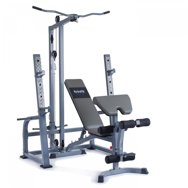 Posilovací lavice na bench press TrinFit FX7 komplet