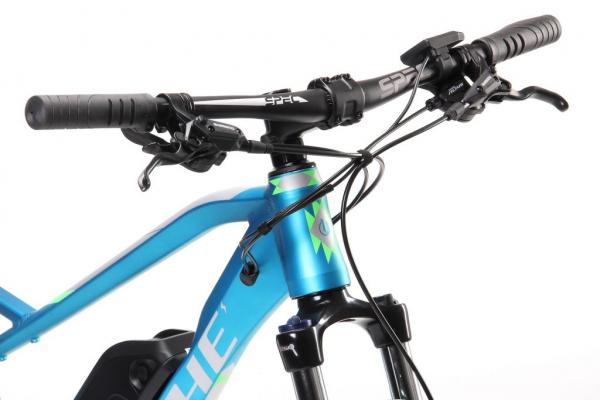 MANITOU E5 modrý řídítka