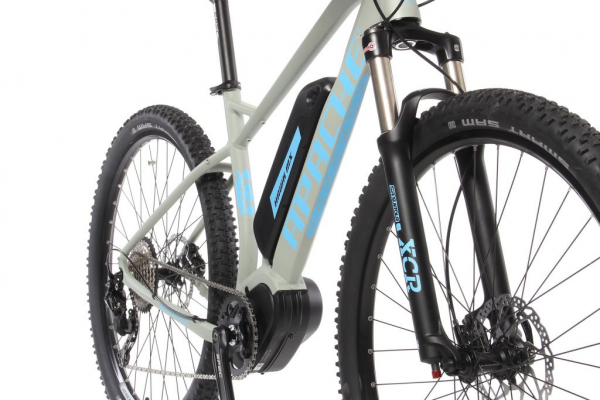 HAWK MX šedo-modrý baterie