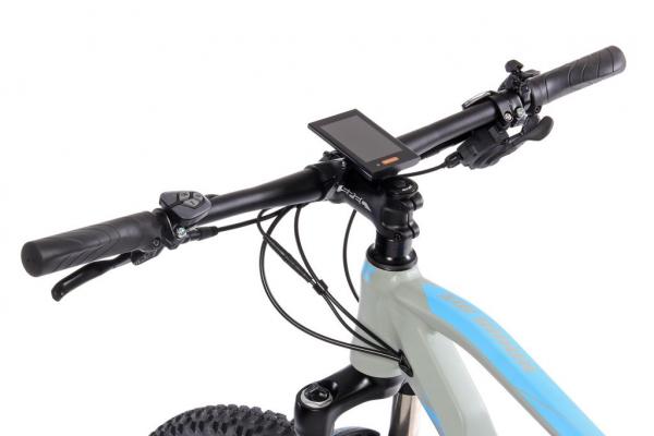 HAWK MX šedo-modrý ovládání