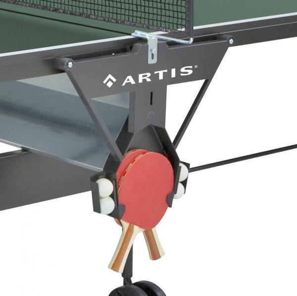 Stůl na stolní tenis ARTIS Stůl na stolní tenis 126 indoor - držák na pálky a míčky