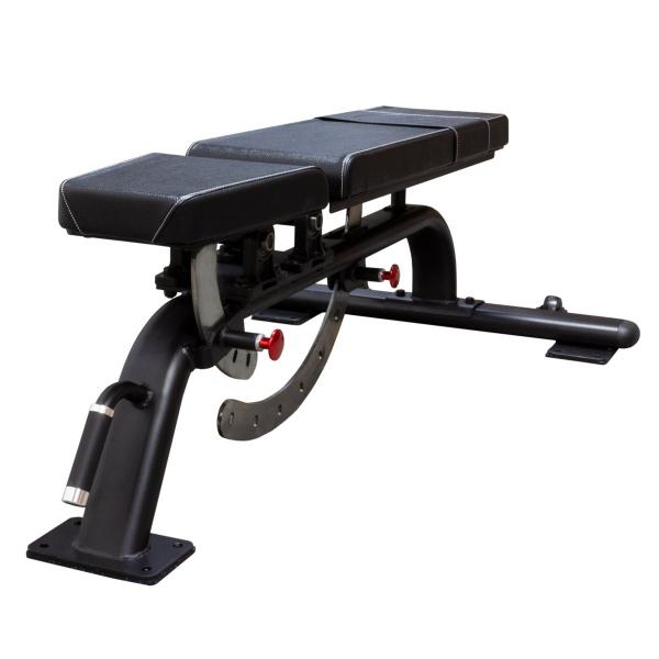 Posilovací lavice na bench press STRENGTHSYSTEM Heavy duty utility bench - posilovací lavice pohled 2