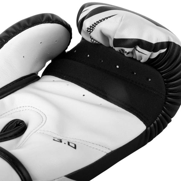 VENUM boxerské rukavice Challenger 3.0 černá bílá inside 2