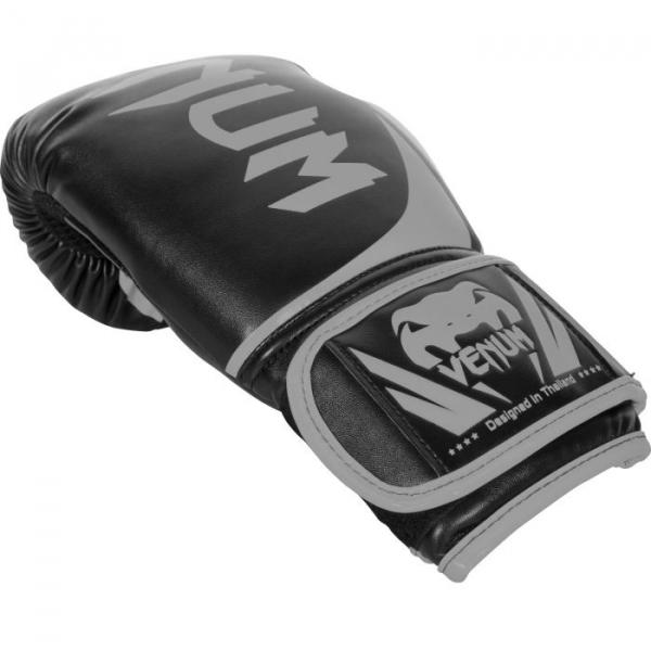 Boxerské rukavice Challenger 2.0 šedé bílé VENUM hřbet