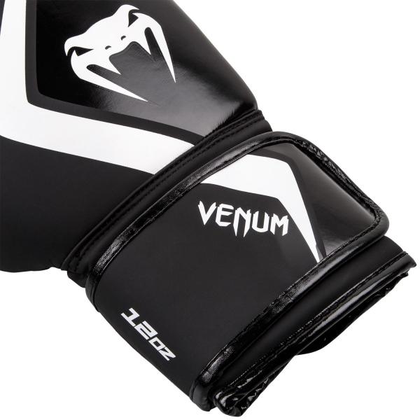 Boxerské rukavice Contender 2.0 černé šedo-bílé VENUM omotávka