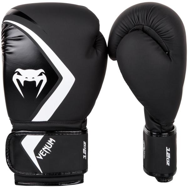 Boxerské rukavice Contender 2.0 černé šedo-bílé VENUM