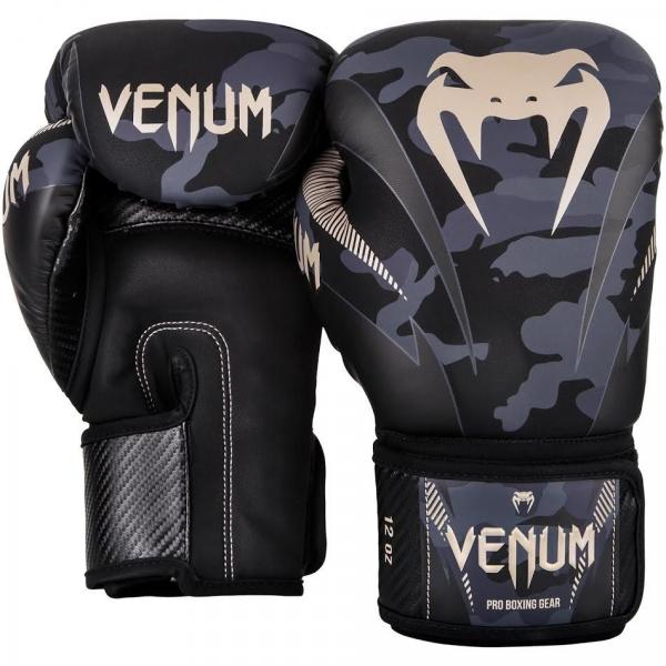 Boxerské rukavice Impact dark camo sand VENUM pair