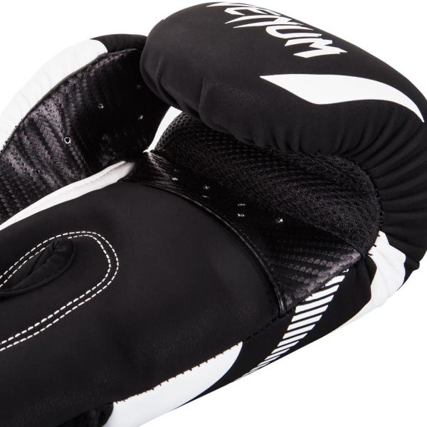 Boxerské rukavice Impact černé bílé VENUM inside