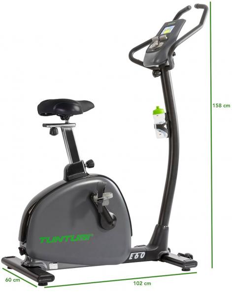 Rotoped TUNTURI E60 Bike Performance - rozměry stroje