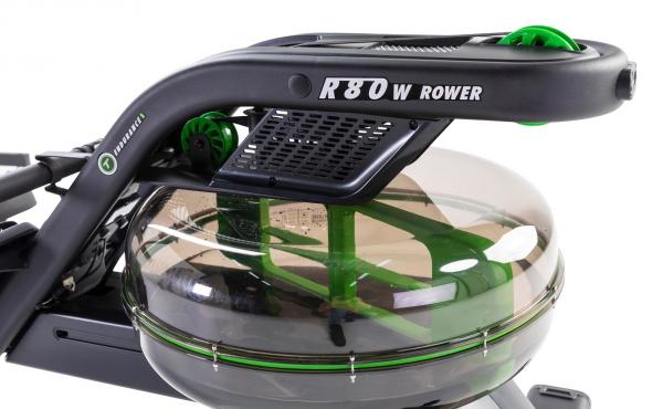 Veslovací trenažér Tunturi R85W Rower Dual Rail Endurance detail 2