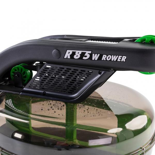 Veslovací trenažér Tunturi R85W Rower Dual Rail Endurance nádrž