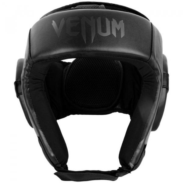 Chránič hlavy Challenger Open Face černý VENUM zepředu