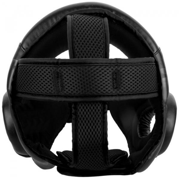 Chránič hlavy Challenger Open Face černý VENUM zeshora
