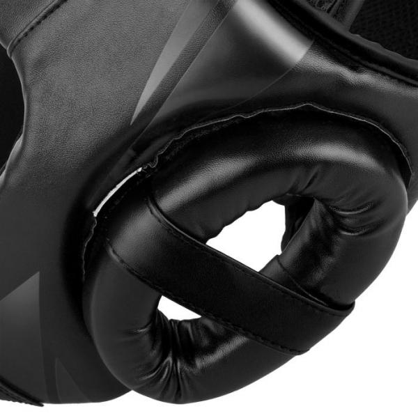 Chránič hlavy Challenger Open Face černý VENUM detail 3