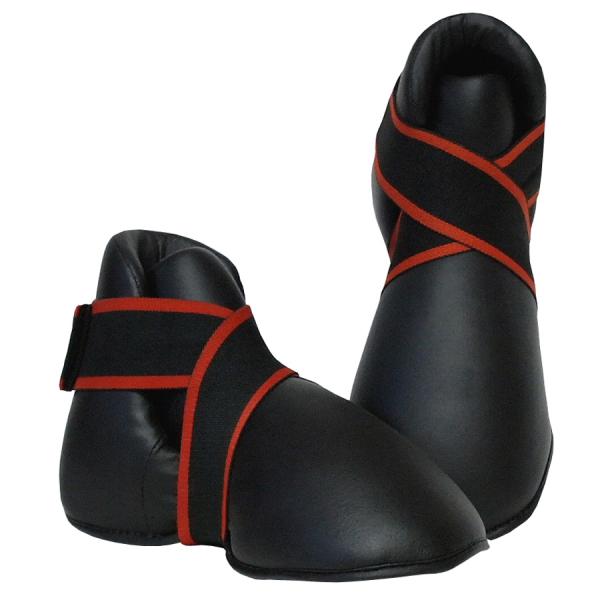 Chrániče na nárty - botička BAIL černé