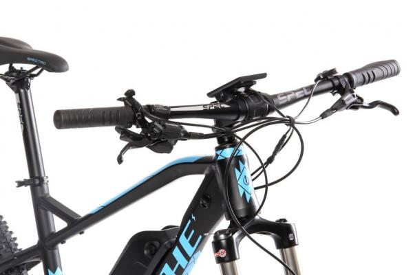 MANITOU MX 13 Ah černo-modrý řídítka