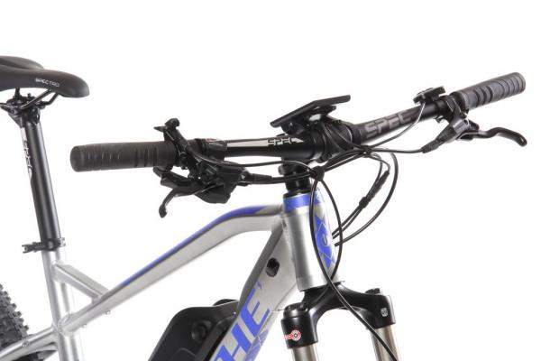 MANITOU MX 13 Ah šedo-modrý řídítka