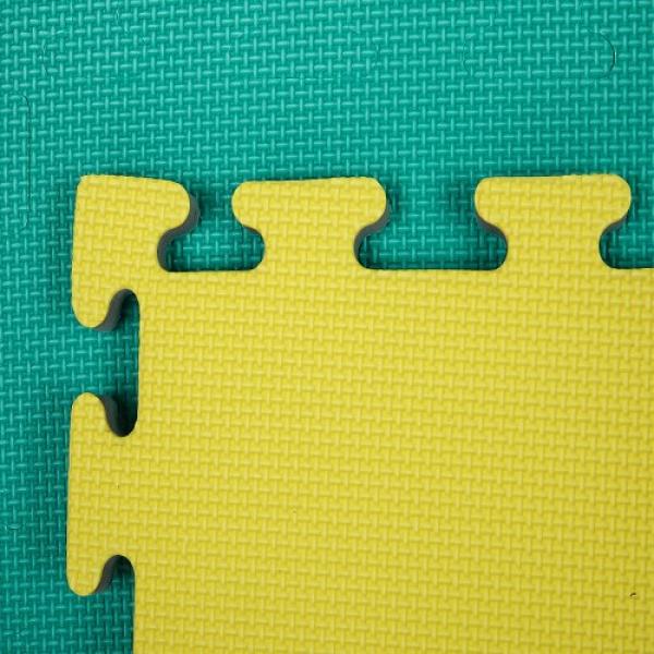 Tatami zeleno-žluté detail