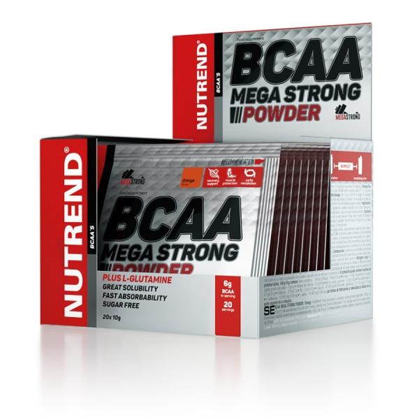 NUTREND BCAA Mega Strong Powder 10 g ananas