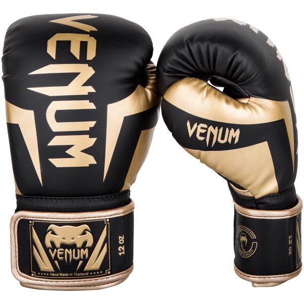 Boxerské rukavice Elite černé zlaté VENUM