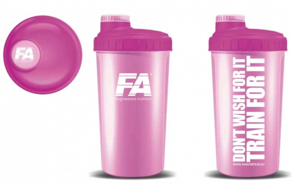 Shaker Pink Trainer For Fit 700 ml FITNESS AUTHORITY