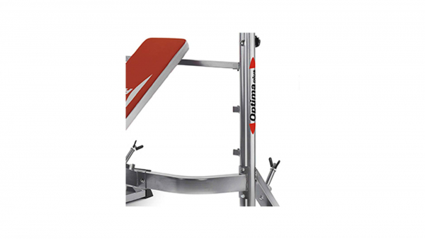 Posilovací lavice na bench press BH Fitness Optima Press G330 detail