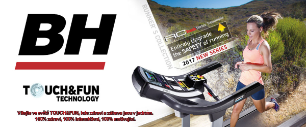 Běžecký pás BH Fitness F8 TFT promo