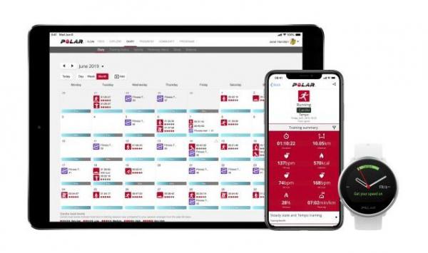 Sporttester POLAR IGNITE - aplikace
