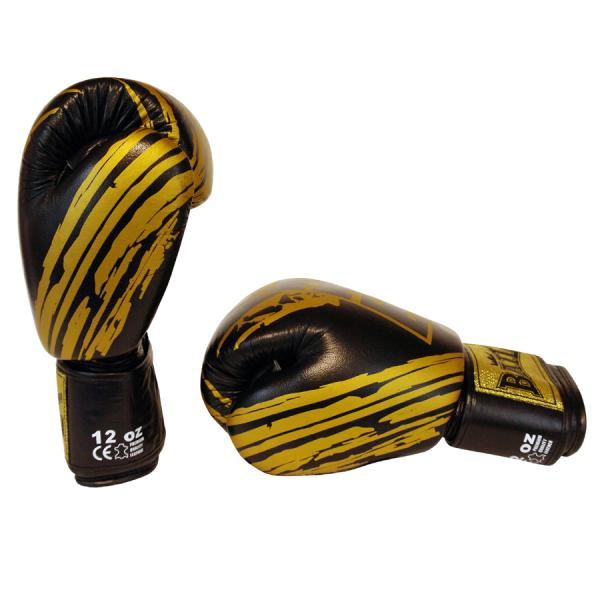 BAIL boxerské rukavice Thaibox Gold Thai side