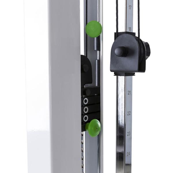 Kladkový stroj Tunturi PL80 Single Pulley Station1 - kladky