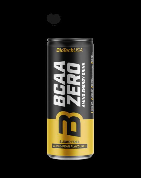 BIOTECH BCAA Zero energy drink 330 ml jablko-hruška