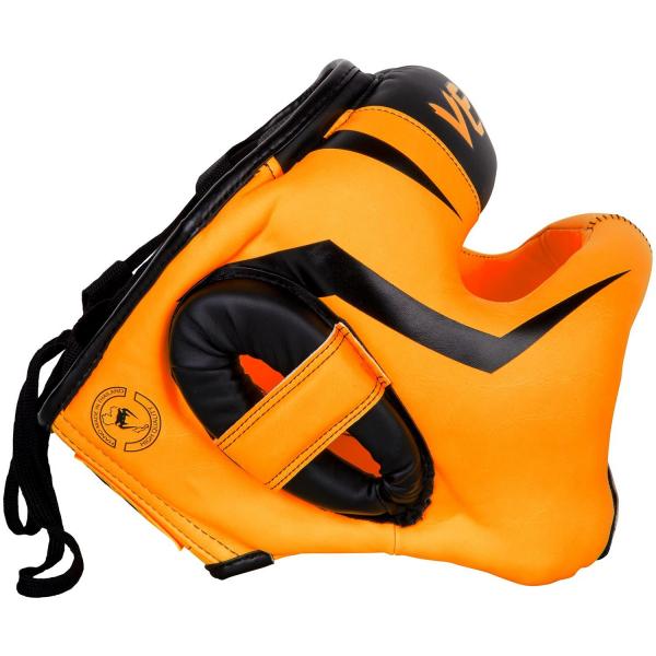 Chránič hlavy Elite Iron VENUM oranžový side