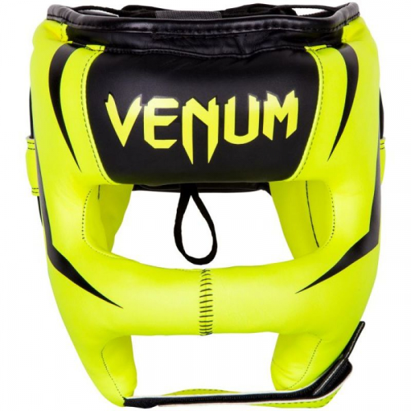 Chránič hlavy Elite Iron VENUM žlutý předek
