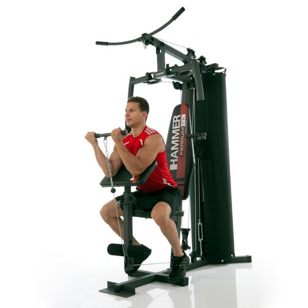 Posilovací věž  Hammer Ferrum TX1 - biceps se spodní kladkou