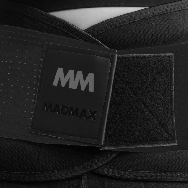 Zeštíhlovací pás - Slimming Belt MADMAX - černý detail 1