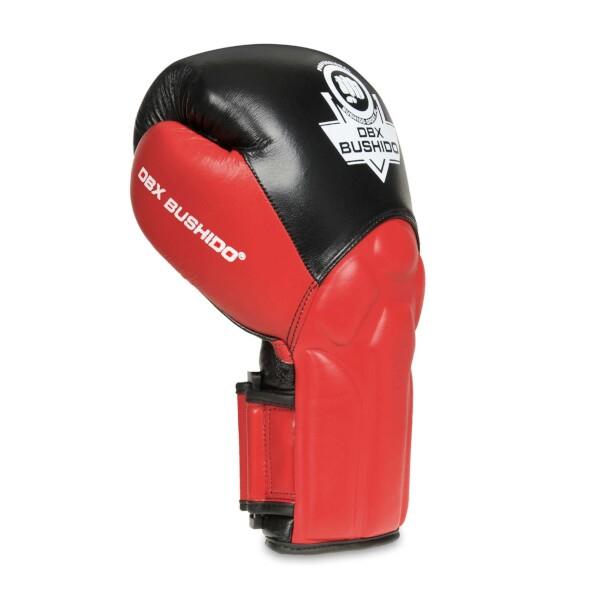Boxerské rukavice BB1 - přírodní kůže DBX BUSHIDO hřbet