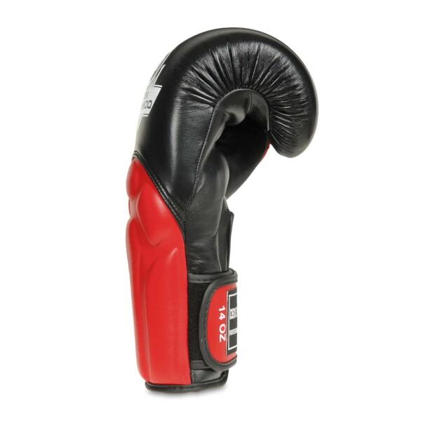 Boxerské rukavice BB1 - přírodní kůže DBX BUSHIDO side
