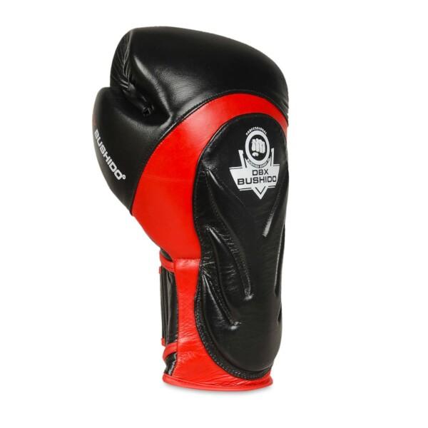 Boxerské rukavice BB4 - přírodní kůže DBX BUSHIDO hřbet